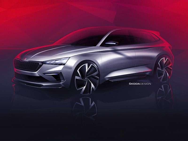 El ŠKODA VISION RS revela el disseny de la següent generació RS i un futur cotxe compacte