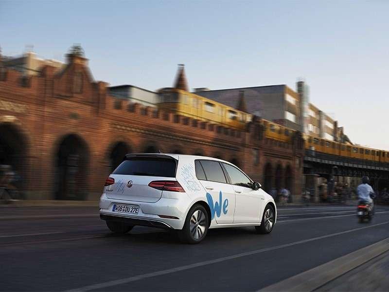 La marca Volkswagen entra en el sector del car sharing