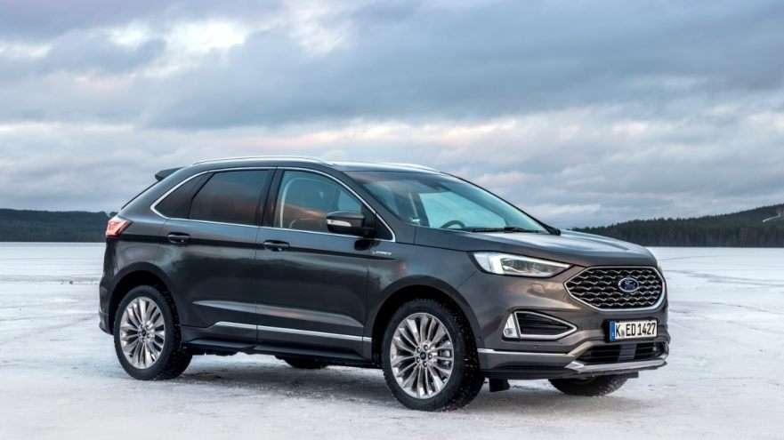 El Nuevo SUV Ford Edge utiliza inteligencia artificial para ayudar a mejorar el agarre y reducir el consumo de combustible