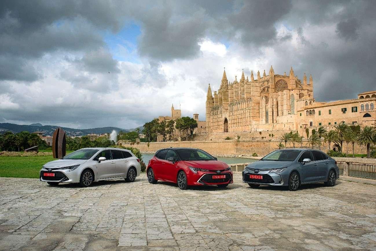 Llega a España la nueva familia Toyota Corolla