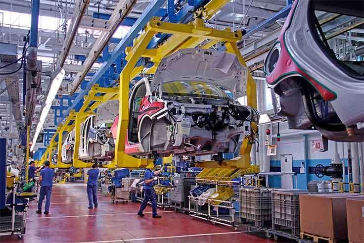 Aumenta la producción de vehículos españoles un 12,2% en el mes de septiembre