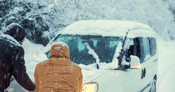 ¿Cubre el seguro los daños de tu coche por el temporal de nieve?