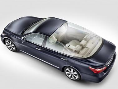 Lexus LS 600h Landaulet, un coche exclusivo.