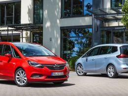 El nuevo Zafira, disponible en Opel Cartagena