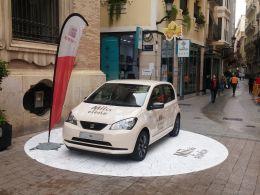 El Seat Mii brilla con luz propia en las calles de Murcia