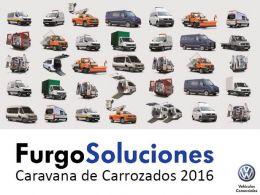 Huertas Motor acoge la exposición 'FurgoSoluciones' de Volkswagen