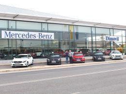 Dimovil entrega cinco Mercedes-Benz Clase A a La Manga Rent a Car