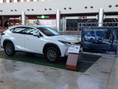 Nueva Condomina abre sus puertas al Lexus NX 300h SPORT EDITION.