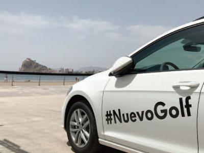 El nuevo Volkswagen Golf veranea con 'La Radio al Sol'