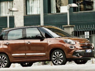 Fiat renueva y amplía las versiones del 500L