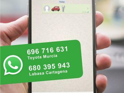 Toyota pone en marcha un nuevo servicio de atención por Whatsapp