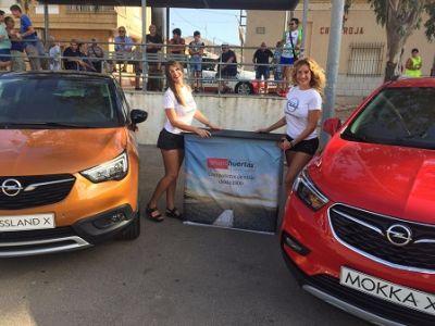 Opel Cartagena, patrocinador el Cross Minero de Llano del Beal