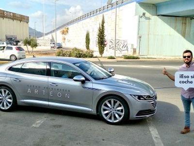 Jornada inolvidable en Huertas Motor con el nuevo Volkswagen Arteon