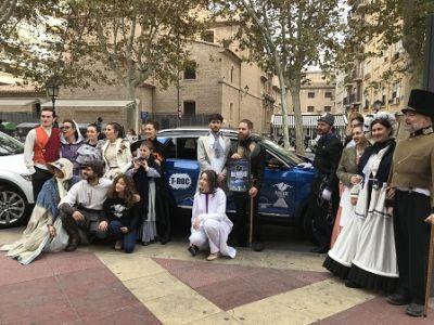 El Nuevo T- Roc se pasea por el centro de Murcia con el musical 'Rainroad'