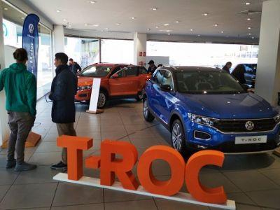 Huertas Motor Volkswagen Cartagena abre puertas con el nuevo T-Roc