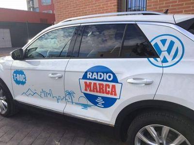 Los mejores ciclistas del mundo recorren Murcia con Volkswagen