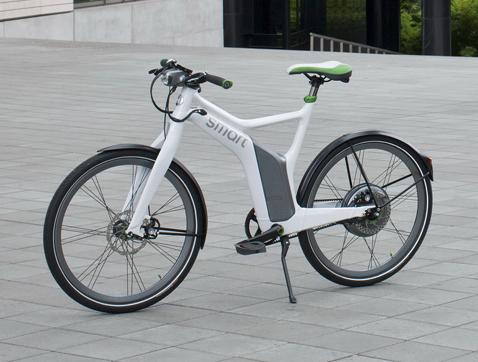 Smart ebike, la bicicleta eléctrica de Smart para la ciudad