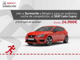 ¡Ven a Surmoción y llévate el SEAT León Cupra desde 24.900 euros!