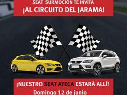 ¡En SURMOCIÓN te invitamos al Circuito del Jarama este domingo 12 de junio!