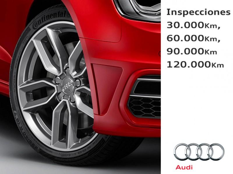 Inspección de mantenimiento de tu Audi
