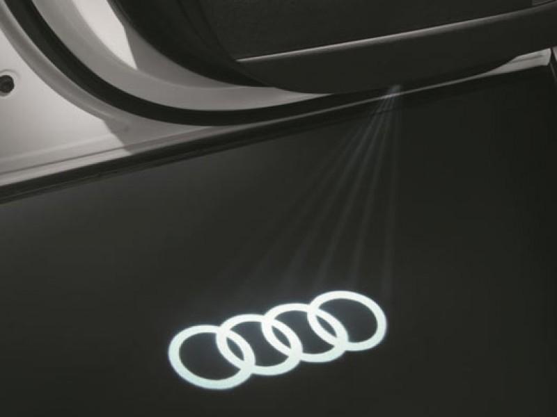Luces de acceso led Audi Beam