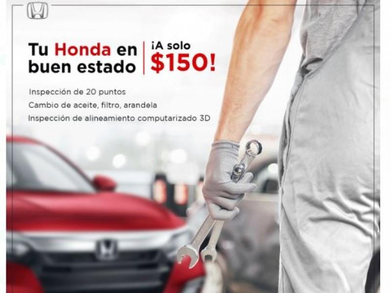 Mantén tu Honda en buen estado con Masaki