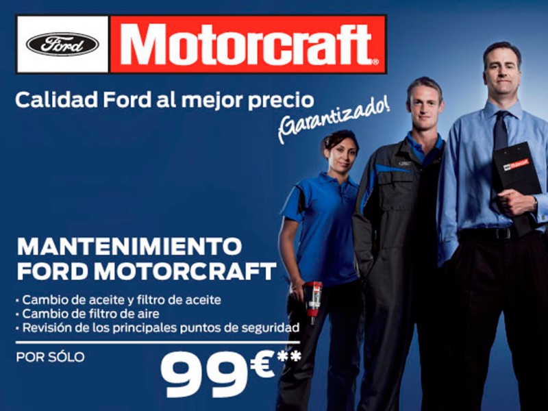 Mantenimiento Ford Motorcraft