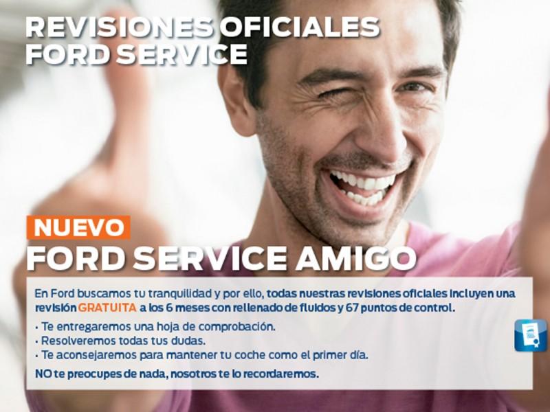 Revisión Oficial Ford Service