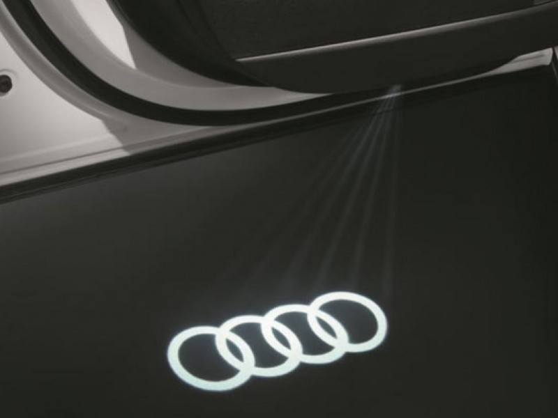 Luces de acceso led Audi Beam