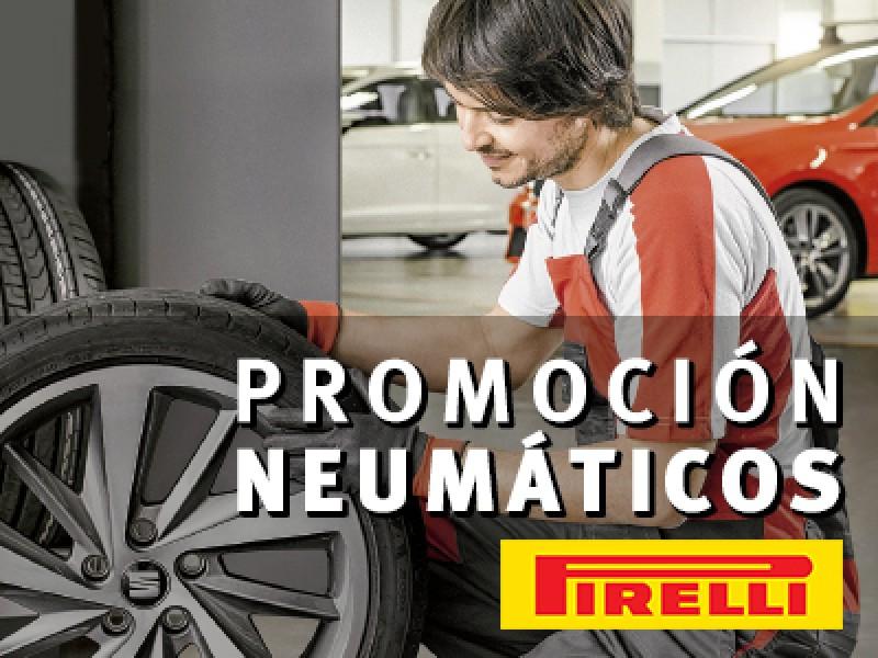 Aprovéchese de nuestras ofertas en Neumáticos Pirelli.