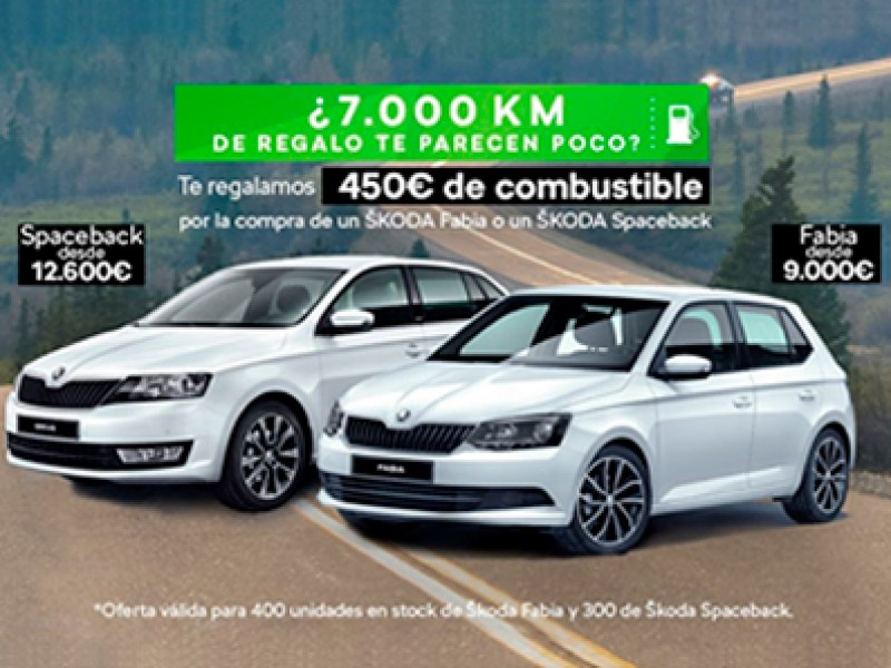 ¿7.000 km de combustible te parecen poco? Te regalamos 450€ de combustible.