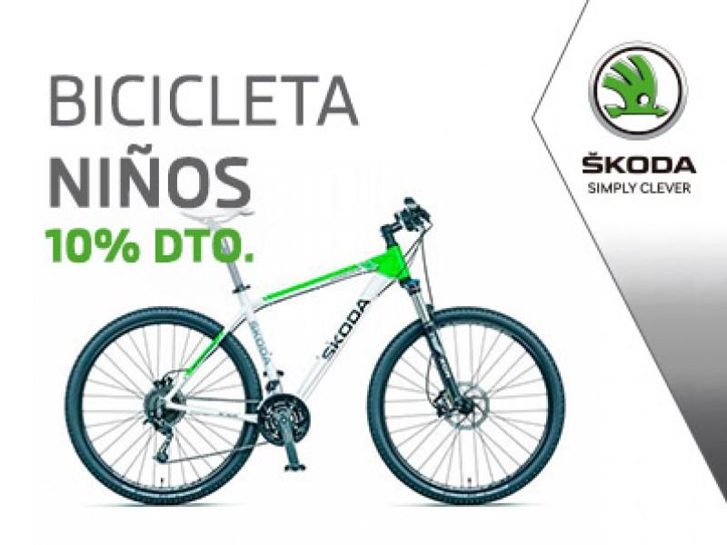 10% de descuento en bicicleta Skoda