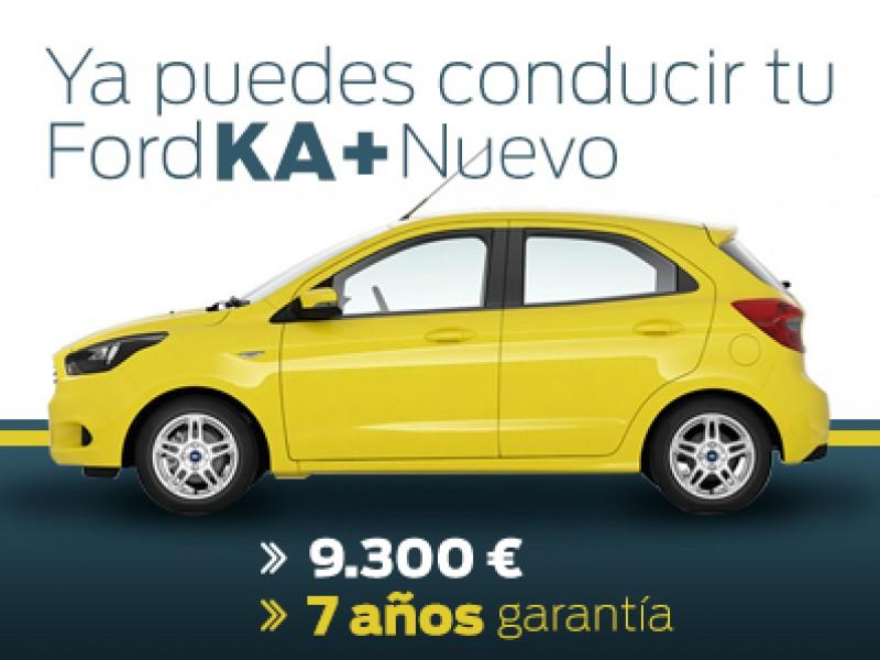 Ford Ka+ Ultimate nuevo desde 9.300 €
