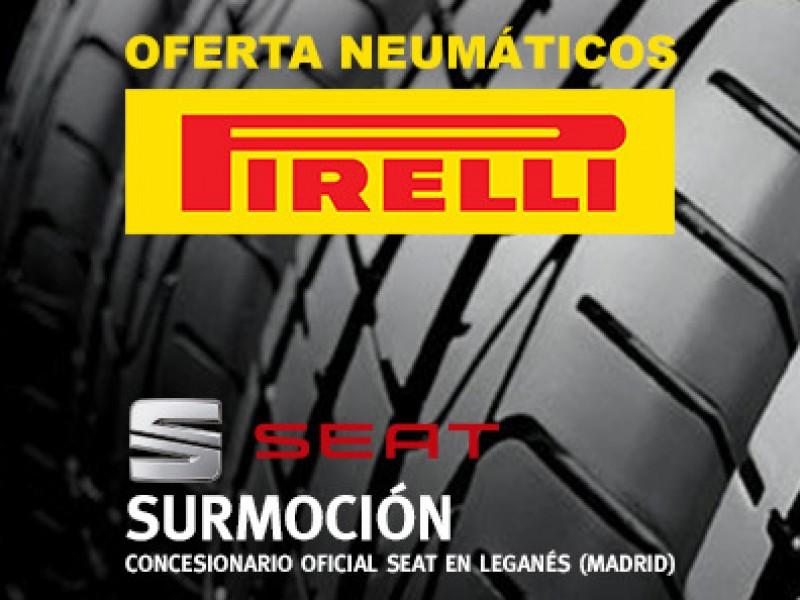 Promoción en neumáticos Pirelli