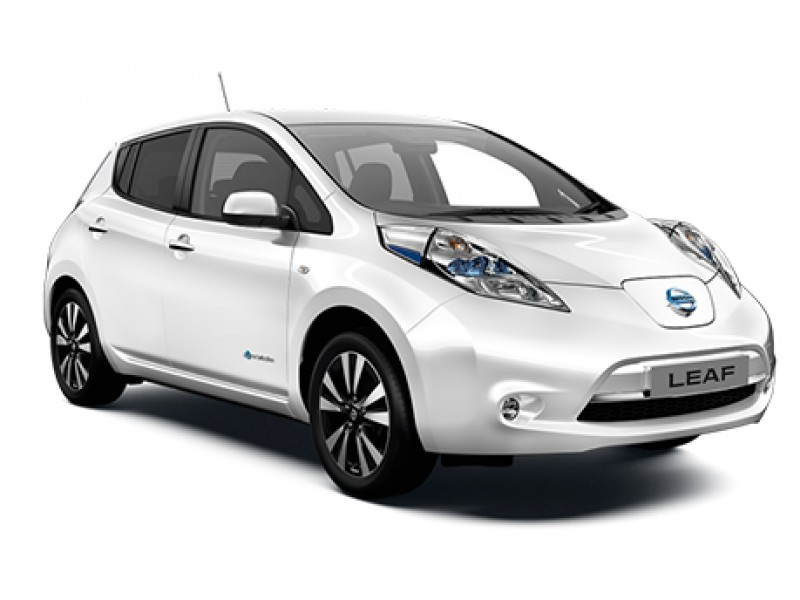 50% de descuento en accesorios de Nissan LEAF