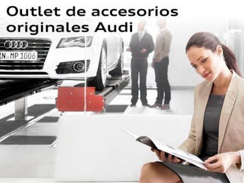 Promoción outlet de accesionarios originales Audi