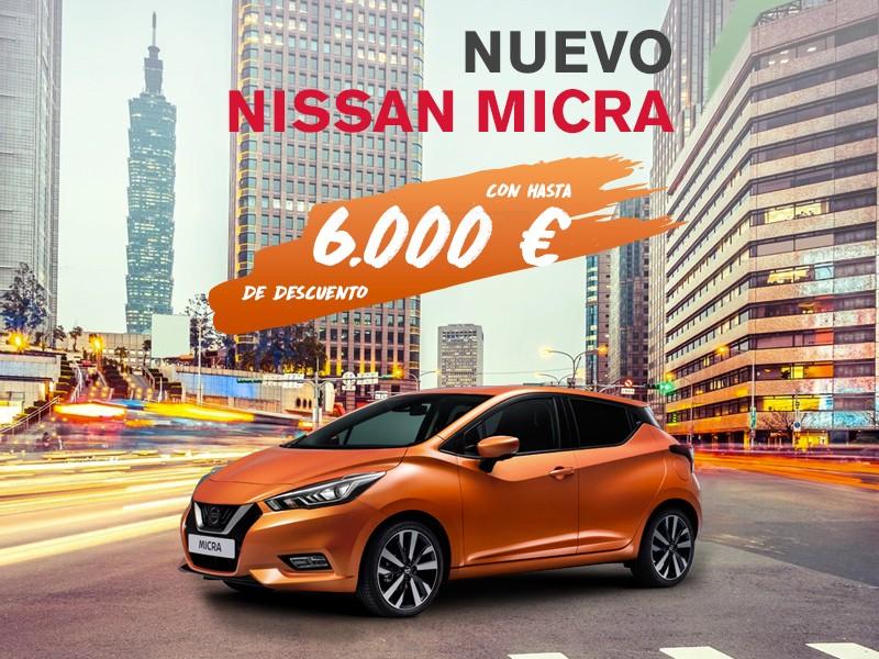 Nuevo Micra con hasta 6.000€ de ahorro