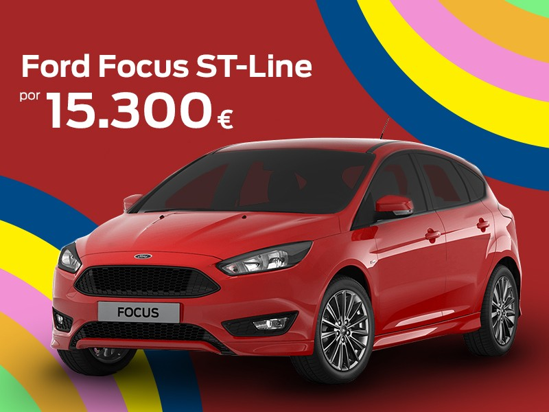 Estrena Ford Focus ST-Line