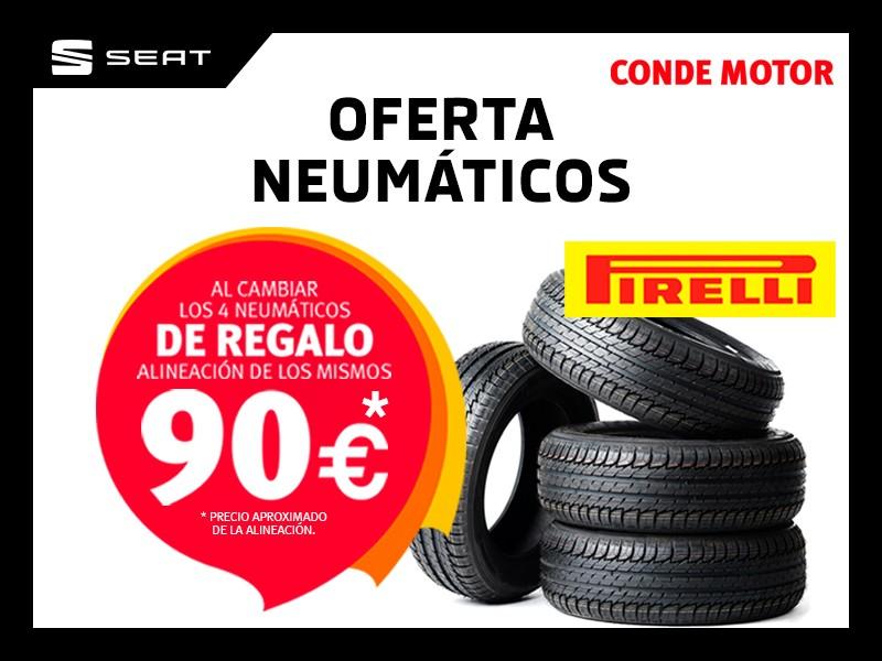 Oferta de neumáticos en Pirelli