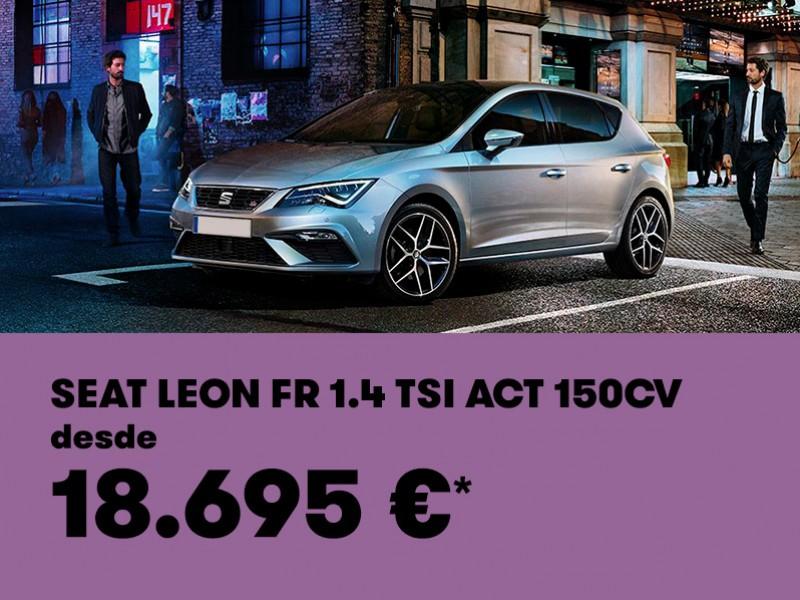 SEAT León FR 150CV desde 18.695€