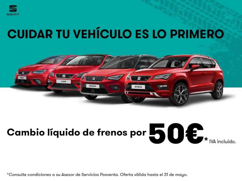 Promoción cambio líquido de frenos 50€