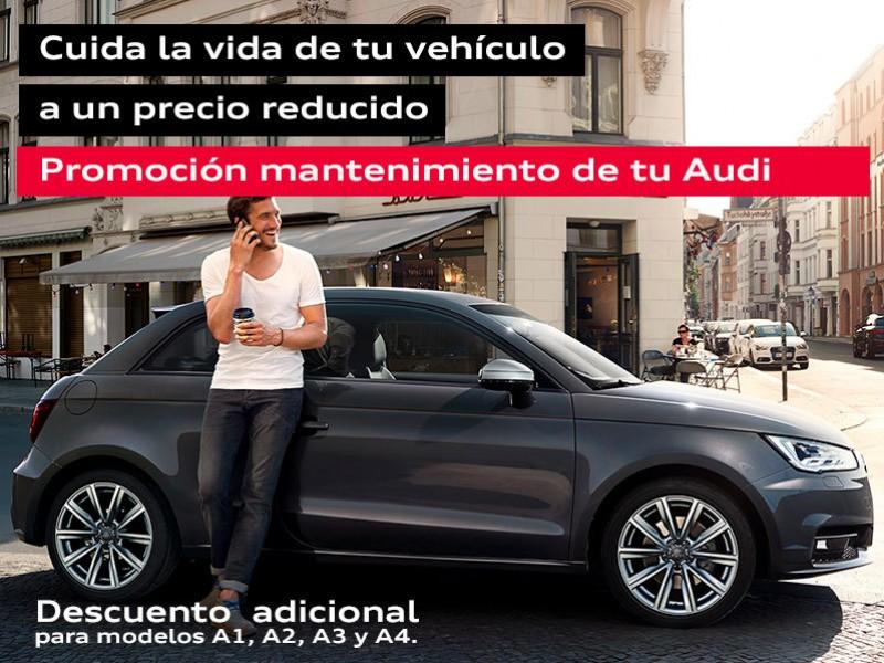 Promoción mantenimiento para tu Audi