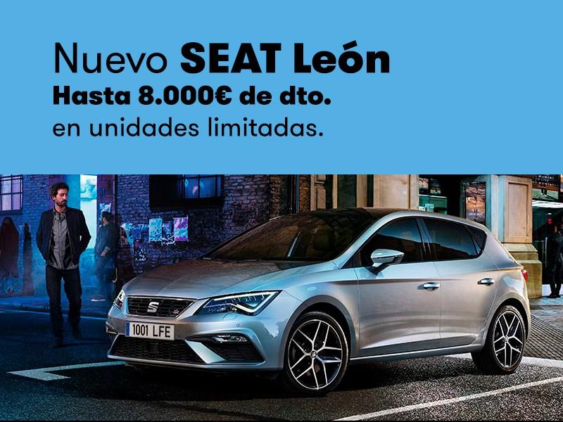 Nuevo SEAT León con hasta 8.000€ de dto.