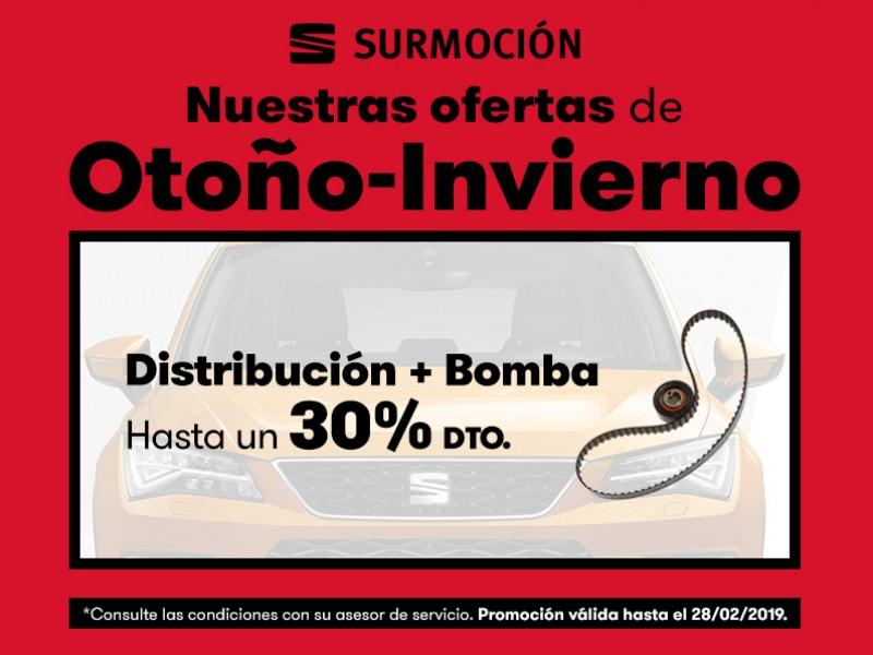 Distribución y bomba hasta un 30% Dto*