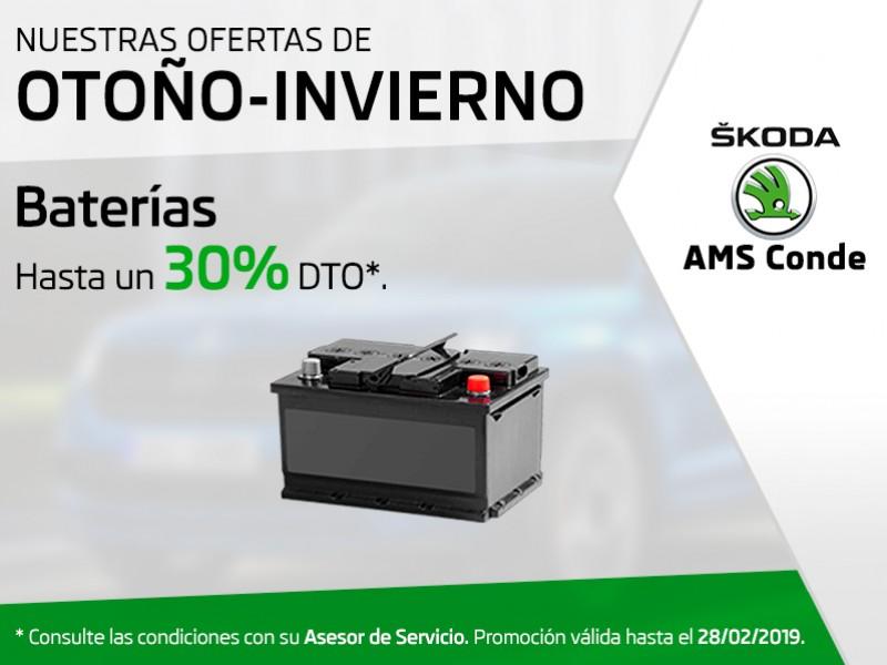 Batería hasta un 30% Dto*