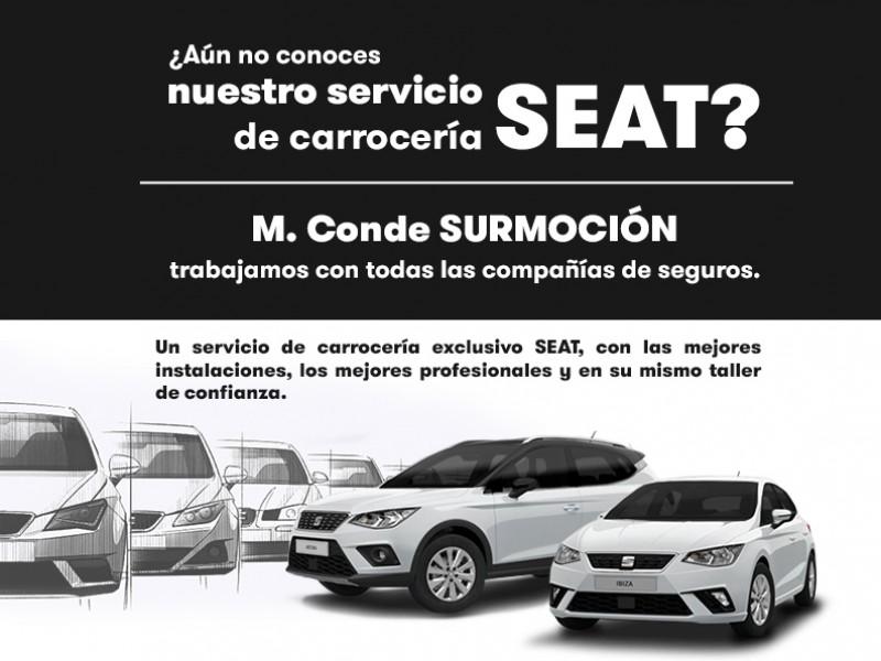 servicio de carrocería SEAT