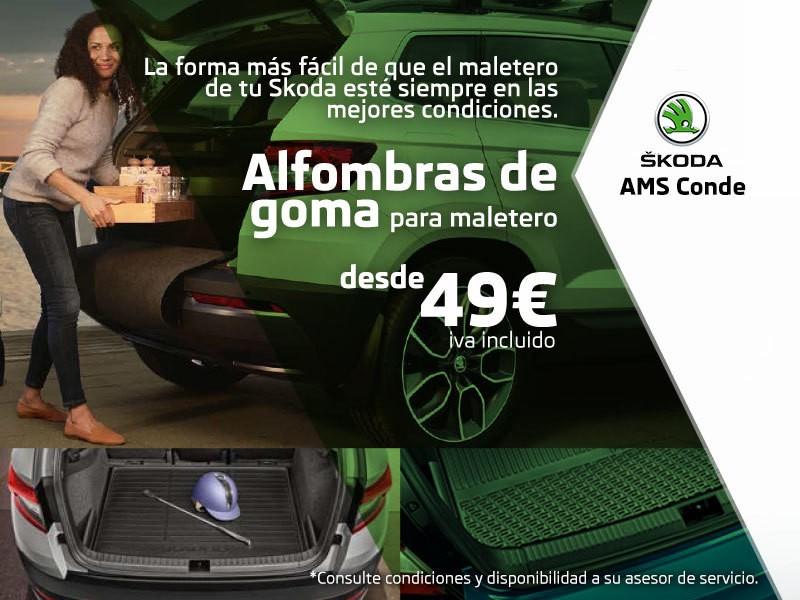 Promoción Alfombras Maletero