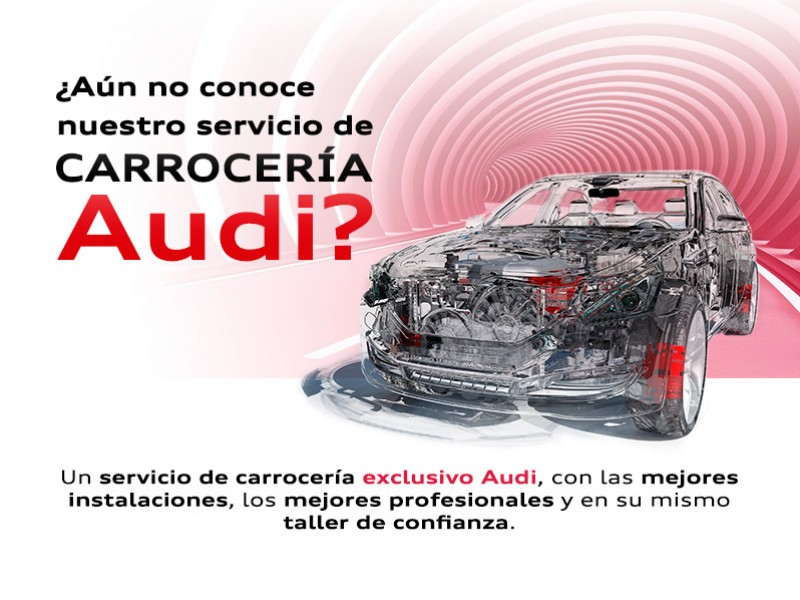 Servicio de carrocería Audi