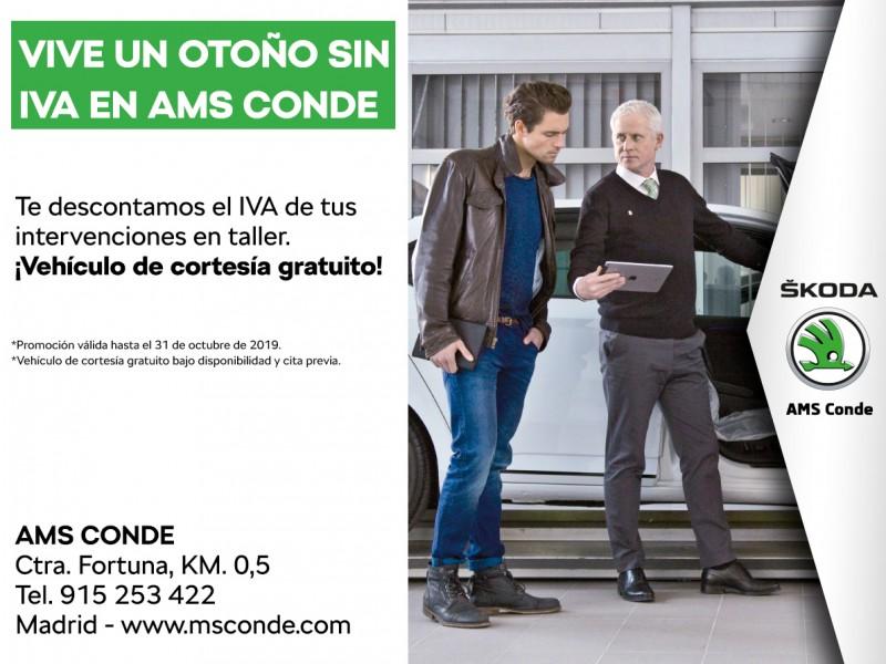 CAMPAÑA OTOÑO SIN IVA EN AMS CONDE
