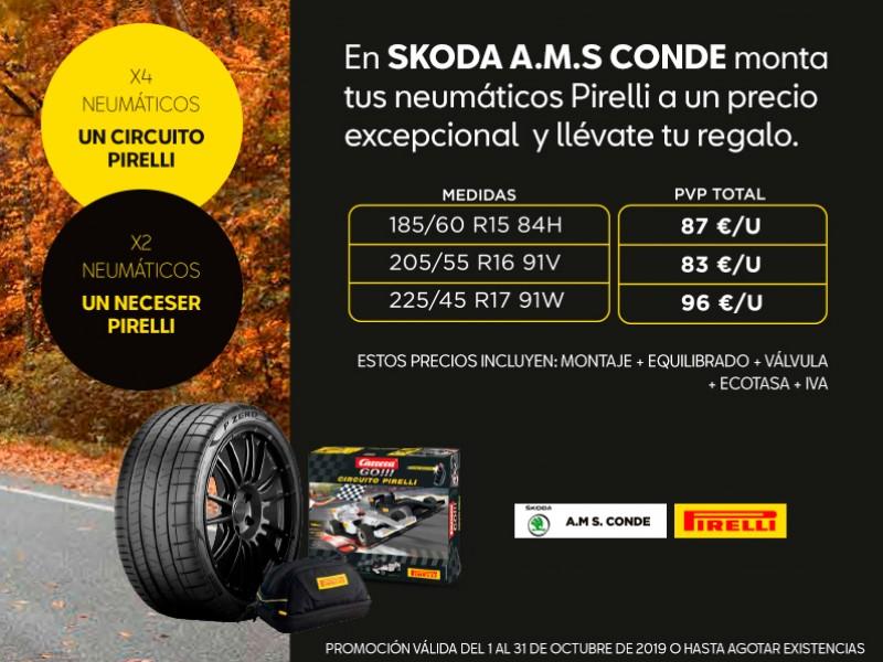 Campaña Posventa Neumáticos Pirelli